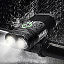 Χαμηλού Κόστους Φώτα Ποδηλάτου-Διπλή λυχνία LED Φώτα Ποδηλάτου Μπροστινό φως ποδηλάτου Φακός Ποδήλατο Ποδηλασία Αδιάβροχη Επαναφορτιζόμενο Πολλαπλές λειτουργίες Super Bright USB 2400 lm Επαναφορτιζόμενο USB Άσπρο Ποδηλασία - WOSAWE