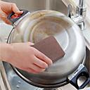 ราคาถูก อุปกรณ์ทำความสะอาดห้องครัว-ครัว อุปกรณ์ทำความสะอาด ฟองน้ำ / วัสดุพิเศษ อุปกรณ์ทำความสะอาดแปรงขัดพื้นและผ้า Gadget ครัวสร้างสรรค์ 1pc