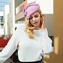Χαμηλού Κόστους Καπέλα και Διακοσμητικά-100% Μαλλί Kentucky Derby Hat / Καλύμματα Κεφαλής με Φιόγκος 1pc Causal / Καθημερινά Ρούχα Headpiece