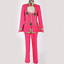 povoljno Anime kostimi-Inspirirana JoJo je Bizarno Avantura Giorno Giovanna / JoJo Anime Cosplay nošnje Japanski Cosplay Suits Posebni dizajni Top / Hlače / Kostim Za Muškarci / Žene