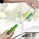 billige Eggeverktøy-Kjøkken Vaskemidler Svamp / Hard Plastikk Rengjøringsbørste og klut Kreativ Kjøkken Gadget 1pc