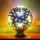 ราคาถูก Novelty Lighting-ไฟ led หลอดไฟ 3d ตกแต่งดอกไม้ไฟหลอดไฟ e27 ไฟวันหยุด a60 g95 g125 แปลกใหม่คริสต์มาสบาร์โคมไฟหยุด