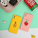 ราคาถูก สุขภาพปากและฟัน-Case สำหรับ Apple iPhone XS Max Ultra-thin / Frosted / Pattern ปกหลัง ผลไม้ Hard พีซี