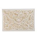 ราคาถูก การ์ดงานแต่ง-พับด้านข้าง เชิญแต่งงาน 20 - การ์ดส่งบัตรเชิญ Artistic Style Pure Paper