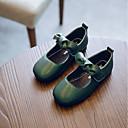 Χαμηλού Κόστους Kids' Flats-Κοριτσίστικα Ανατομικό Φο Δέρμα Χωρίς Τακούνι Νήπιο (9m-4ys) / Τα μικρά παιδιά (4-7ys) Μαύρο / Καφέ / Πράσινο Φθινόπωρο / Συνδυασμός Χρωμάτων / Καοτσούκ