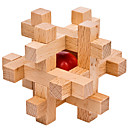 ราคาถูก ของประดับตกแต่งงานแต่งงาน-Magic Cubes Puslespill ปริศนาไม้ ระดับมืออาชีพ Speed ทำด้วยไม้ 12 pcs คลาสสิกและถาวร เด็กผู้ชาย เด็กผู้หญิง Toy ของขวัญ