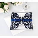 povoljno Pozivnice za vjenčanje-Side Fold Vjenčanje Pozivnice 20 - Pozivnice Umjetnički stil Čisti papir