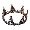 ราคาถูก อุปกรณ์ประดับผม-หงส์ดำ ต่างหูแบบห่วง กะบังหน้า หน้าผากของพระมหากษัตริย์ วินเทจ Gothic Lolita Barroco สง่างาม โครเมียม มงกุฏ Masquerade สำหรับ เสื้อผ้าที่สวมไปงานเต้นรำสวมหน้ากาก Prom งานแต่งงาน / 1 คู่ของต่างหู