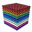 povoljno Motherboards-1000 pcs 3mm Magnetne igračke Magnetske kuglice Kocke za slaganje Snažni magneti Magnetska igračka Magnetska igračka Stres i anksioznost reljef Uredske stolne igračke Uradi sam Dječji / Odrasli