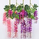 baratos Flores Artificiais & Vasos-Flores artificiais 5 Ramo Suspenso Estiloso Contemporâneo Moderno Flores eternas Guirlandas & Flor de Parede