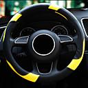 Χαμηλού Κόστους Καλύμματα για το τιμόνι αυτοκινήτου-Το τιμόνι καλύπτει το δέρμα μικροϊνών για τέσσερις εποχές για όλα τα καθολικά μοντέλα