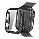 ราคาถูก วง Smartwatch-Case สำหรับ Apple Apple Watch Series 4 / Apple Watch Series 4/3/2/1 / Apple Watch Series 3 ซิลิโคน Apple