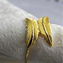 ราคาถูก แหวนผ้าเช็ดปาก-คลาสสิก Metal รอบ ห่วงห่อผ้าเช็ดปาก สีพื้น Christmas ตกแต่งโต๊ะ 12 pcs