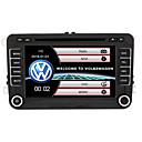Χαμηλού Κόστους Κουρτίνες Μπάνιου-520wgnr04 7 ιντσών 2 παράθυρα σύστημα στο αυτοκίνητο-παύλα dvd player οθόνη αφής ενσωματωμένο bluetooth για υποστήριξη volkswagen rds / gps / τιμόνι ελέγχου / subwoofer εξόδου / παιχνίδια / tf / usb
