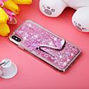 billige Tote-vesker-Etui Til Apple iPhone XS / iPhone XR / iPhone XS Max Støtsikker / Flommende væske / Mønster Bakdeksel Glimtende Glitter / Blomsternål i krystall Myk TPU