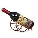 ราคาถูก ชั้นวางไวน์-โบราณปืนใหญ่สไตล์ที่วางขวดไวน์โลหะปืนใหญ่ชั้นวางไวน์ barware