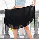 Χαμηλού Κόστους Αξεσουάρ κεφαλής για πάρτι-Λάτιν Χοροί Παντελόνια Φούστες Γυναικεία Επίδοση Mohair Φούντα Χαμηλή Μέση Φούστες