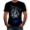 voordelige Cosplay voor dagelijks gebruik-KARNEVAL Cosplay T-Shirt Poly / Katoen Nieuwigheid Voor Unisex