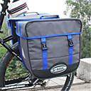 Χαμηλού Κόστους Τσάντες για σκελετό ποδηλάτου-B-SOUL 50 L Τσάντα αποσκευών για ποδήλατο / Διπλή τσάντα σέλας ποδηλάτου Τσάντες αποσκευών για ποδήλατο Αδιάβροχη Φορητό Φοριέται Τσάντα ποδηλάτου Καμβάς Τσάντα ποδηλάτου Τσάντα ποδηλασίας Ποδηλασία