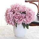 Χαμηλού Κόστους Ψεύτικα Λουλούδια-Ψεύτικα λουλούδια 5 Κλαδί Κλασσικό Λουλούδια Γάμου Ποιμενικό Στυλ Παιώνιες Λουλούδι για Τραπέζι