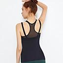 abordables Ropa de fitness, running y yoga-Mujer Yoga Top Color sólido Yoga Running Rutina de ejercicio Tank Tops / Camiseta Ropa de Deporte Transpirable Secado rápido Elástico