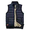 ราคาถูก รองเท้าผ้าใบผู้ชาย-สำหรับผู้ชาย Hiking Vest เสื้อกั๊กตกปลา กลางแจ้ง ฤดูใบไม้ร่วง ฤดูใบไม้ผลิ รักษาให้อุ่น กันลม แห้งเร็ว ความต้านทานการสึกหรอ Tops Single Slider / ฤดูหนาว