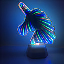 Χαμηλού Κόστους Σκιές Ματιών-1x 3d μονόκερος σχήμα σήραγγα πολύχρωμο φως νυχτερινό φως αποτέλεσμα aa μπαταρία τροφοδοτείται σπίτι διακόσμηση οδήγησε lightinga0006