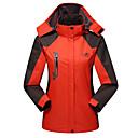 ราคาถูก ชุดกันลม,เสื้อขนแกะ,แจ็กเก็ตสำหรับปีนเขา-สำหรับผู้หญิง Hiking Jacket Hiking Windbreaker ลายต่อ กลางแจ้ง ฤดูใบไม้ร่วง ฤดูใบไม้ผลิ กันน้ำ กันลม ระบายอากาศ รักษาให้อุ่น เสื้อแจ็คเก็ต Tops ความยาวของซิปรูดที่ซ่อนอยู่แบบเต็ม / ฤดูหนาว / ฤดูหนาว