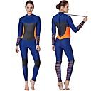 ราคาถูก ของชำร่วยงานแต่งใช้ได้จริง-SBART สำหรับผู้หญิง Wetsuits เต็ม 3mm SCR Neoprene ชุดดำน้ำ รักษาให้อุ่น แขนยาว ซิปหลัง - การดำน้ำ กีฬาทางน้ำ ฤดูใบไม้ร่วง ฤดูใบไม้ผลิ ฤดูร้อน / ผสมยางยืดไมโคร