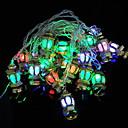 ราคาถูก สายไฟ LED-4 เมตรฮาโลวีนคริสต์มาสไฟสตริงพระราชวังทองโคมไฟ 20 leds หลายสีตกแต่ง 220-240 โวลต์ 1 เซ็ต