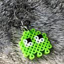 Χαμηλού Κόστους Animale de Pluș-Emoji Κουμπωτά Σκουλαρίκια Σοβαρά & Σικ Πανκ χαριτωμένο στυλ Ασημί Για Πάρτι Καθημερινή Ένδυση Γυναικεία Κοστούμια Κοσμήματα Κοσμήματα μόδας / 1 Ζευγάρι σκουλαρίκια
