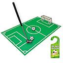 billige Bil-DVR-nyhet bad toalett mini fotball mål nettverkssett trener morsomt spill gave leketøy