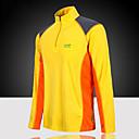 Χαμηλού Κόστους T-shirt Πεζοπορίας-Ανδρικά Tricou de Drumeție Μακρυμάνικο Εξωτερική Ελαφρύ Ανθεκτικό στην υπεριώδη ακτινοβολία Αναπνέει Γρήγορο Στέγνωμα Φανέλα Μπολύζες Καλοκαίρι POLY Όρθιος γιακάς Μπλε Γκρίζο Βαθυγάλαζο / Ελαστικό