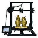 povoljno 3D printeri-tronxy® xy-3 aluminijski profil 3d pisač 310 * 310 * 330mm veličina ispisa s nastavkom za ispis / 3.5inch zaslon osjetljiv na dodir / magnetna naljepnica / izvučeni vijak / dvostruki dizajn ventilator