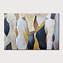 povoljno Slike krajolika-Hang oslikana uljanim bojama Ručno oslikana - Sažetak Ljudi Moderna Bez unutrašnje Frame