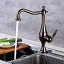 ราคาถูก อุปกรณ์ทำความสะอาดห้องครัว-ก๊อกน้ำสำหรับห้องครัว - จับเดี่ยวหนึ่งหลุม มาตรฐานหัดดื่ม ร่วมสมัย Kitchen Taps