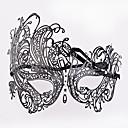 Χαμηλού Κόστους Μάσκες-Ενετική μάσκα Μάσκα μάσκας Μισή μάσκα Εμπνευσμένη από Στολές Ηρώων Μαύρο Halloween Halloween Απόκριες Μασκάρεμα Ενηλίκων Γυναικεία Γυναίκα
