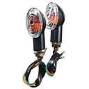 זול תאורת אופנוע-2pcs אותות מחוון אות אופנוע אור בהיר blinker