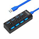 povoljno USB razdjelnici i sklopke-USB 3.0 to USB 3.0 USB hub 4 Luke High Speed / S Switch (es)