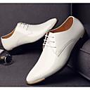 Χαμηλού Κόστους Αντρικές Μπότες-Ανδρικά Παπούτσια άνεσης PU Άνοιξη & Χειμώνας Oxfords Μαύρο / Καφέ / Μπλε