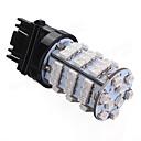 Χαμηλού Κόστους Φώτα φρένων-1pcs 3157 Αυτοκίνητο Λάμπες 3.2 W SMD 3528 185 lm 54 LED Φως Φλας / Οπίσθιο φώς / Φώτα φρένων Για Universal / Volkswagen / Toyota Όλες οι χρονιές