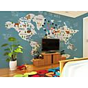 Χαμηλού Κόστους Τοιχογραφία-ταπετσαρία / Τοιχογραφία Καμβάς Κάλυψης τοίχων - κόλλα που απαιτείται Ζωγραφιά / Art Deco / Μοτίβο