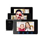 olcso Videó kaputelefonok-Factory OEM Vezetékes Beépített hangszóró 7 hüvelyk Hands free Egy-három kamerás videó kaputelefon