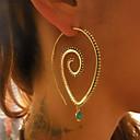 Χαμηλού Κόστους Μοδάτα Σκουλαρίκια-Γυναικεία Κρίκοι Γεωμετρική Φτηνός Μοντέρνα Σκουλαρίκια Κοσμήματα Χρυσό / Ασημί Για Καθημερινά Ημερομηνία 1 Pair