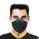 Χαμηλού Κόστους Αξεσουάρ ενδυμασίας-CoolChange Αθλητική μάσκα Μάσκα Προσώπου Συμπαγές Χρώμα Αδιάβροχη Αντιανεμικό Αναπνέει Με προστασία από την σκόνη Ποδήλατο / Ποδηλασία Μαύρο για Ανδρικά Γυναικεία Ενηλίκων / Μικροελαστικό