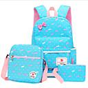 Χαμηλού Κόστους Σετ τσάντες-Γυναικεία Φερμουάρ Νάιλον Σετ τσάντα Τσάντα Σετ 3 σετ Σετ τσαντών Ανθισμένο Ροζ / Σκούρο μπλε / Φούξια