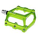 baratos Pedais-Pedais de bicicleta de montanha Pedal & Plataforma Rolamento selado Anti-Escorregar Durável 2 Direcção Alumínio para Ciclismo Bicicleta de Estrada Bicicleta De Montanha Ciclismo de Lazer Verde