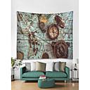 billige Wall Tapestries-Kreativ Veggdekor 100% Polyester Moderne Veggkunst, Veggtepper Dekorasjon