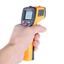 baratos Lâmpadas LED Redondas-Laser lcd digital termômetro infravermelho medidor de temperatura arma termômetro sem contato benetech gm320