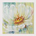 baratos Pinturas Florais/Botânicas-Pintura a Óleo Pintados à mão - Floral / Botânico Modern Incluir moldura interna